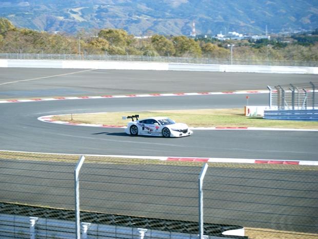 スーパーGT2014年NSX
